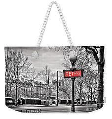 Metro Pont Marie Weekender Tote Bag