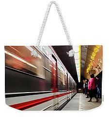 Metroland Weekender Tote Bag
