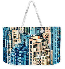 Metropolis Weekender Tote Bag by Amyn Nasser