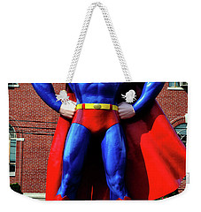 Metropolis - Home Of Superman 001 Weekender Tote Bag by George Bostian