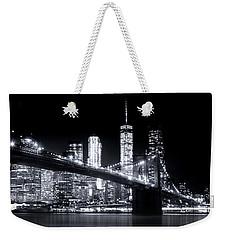 Metropolis Weekender Tote Bag by Mark Andrew Thomas