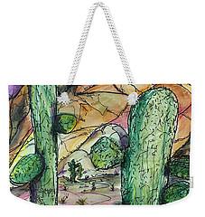Mexican Desert Weekender Tote Bag