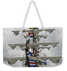 Mexican Navy Ship Weekender Tote Bag