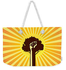Mexican Proverb Weekender Tote Bag by Sassan Filsoof
