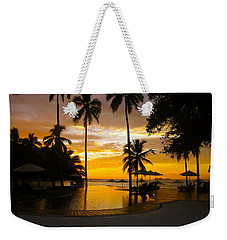 Mexican Sunset Weekender Tote Bag