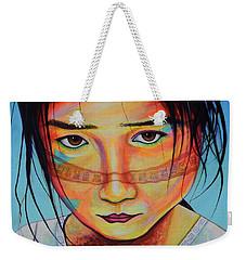 Mexico Dejame Vivir Weekender Tote Bag by Angel Ortiz