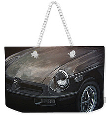 Mgb Rubber Bumper Front Weekender Tote Bag