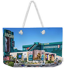 Mgm Grand Casino  2 To 1 Ratio Weekender Tote Bag by Aloha Art