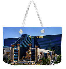 Mgm Grand Hotel Casino Weekender Tote Bag