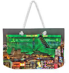 Mgm Grand Las Vegas Weekender Tote Bag by Nicholas  Grunas