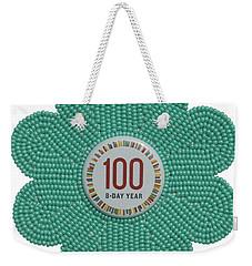Mia Mint Green Weekender Tote Bag
