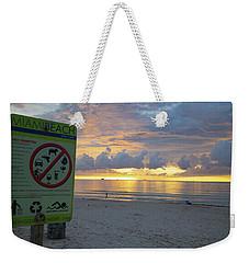 Miami Beach Sunrise Weekender Tote Bag