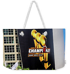 Miami Heat Nba Champions 2006-2012-20133 Weekender Tote Bag
