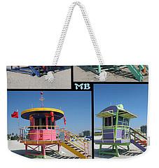 Miami Huts Weekender Tote Bag