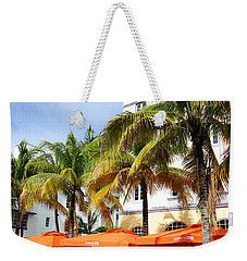 Miami South Beach Ocean Drive 8 Weekender Tote Bag by Nina Prommer