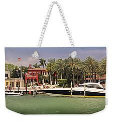 Miami Style Weekender Tote Bag by Steven Sparks