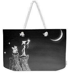 Micah Monk 11 - Light Up The Sky Weekender Tote Bag