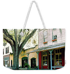 Micanopy Storefronts Weekender Tote Bag
