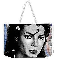 Michael Jackson Stamp Design Weekender Tote Bag