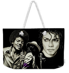 Michael Jackson - The Man In The Mirror Weekender Tote Bag