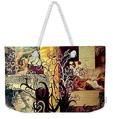 Michelangelo Collage Weekender Tote Bag