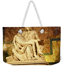 Michelangelo Masterpiece Of A Mother's Love Weekender Tote Bag