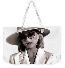 Michelle Pfeiffer Weekender Tote Bag