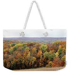 Michigan Autumn Weekender Tote Bag