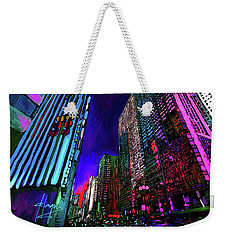 Michigan Avenue, Chicago Weekender Tote Bag
