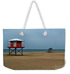 Michigan City Lifeguard Station Weekender Tote Bag