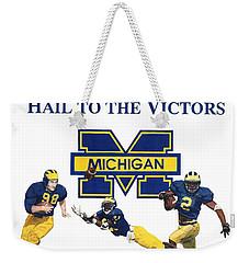 Michigan Heismans Weekender Tote Bag