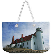 Michigan Lighthouse Weekender Tote Bag