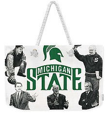 Michigan State Coaching Legends Weekender Tote Bag