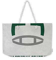 Michigan State Spartans Vintage Art Weekender Tote Bag