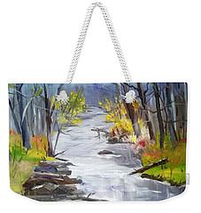 Michigan Stream Weekender Tote Bag