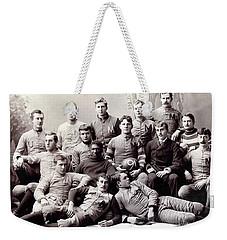 Michigan Wolverine Football Heritage 1890 Weekender Tote Bag by Daniel Hagerman