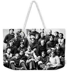 Michigan Wolverines Football Heritage  1895 Weekender Tote Bag by Daniel Hagerman