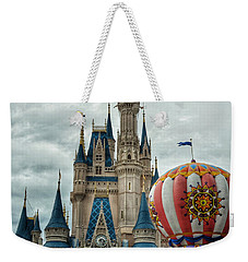 Mickey Mouse Disney House Weekender Tote Bag by Nikki McInnes