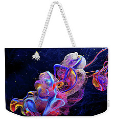 Micro Space - Colorful Abstract Photography Weekender Tote Bag