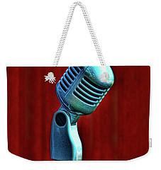 Microphone Weekender Tote Bag by Jill Battaglia