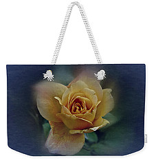 Mid September Rose Weekender Tote Bag by Richard Cummings