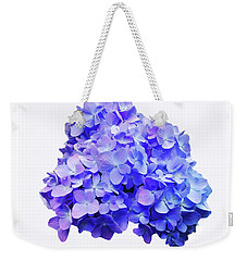 Weekender Tote Bag featuring the photograph Mid-summer Blue by Roger Bester