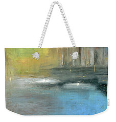 Weekender Tote Bag featuring the painting Mid-summer Glow by Michal Mitak Mahgerefteh