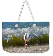 Mid Wave Feeding Weekender Tote Bag