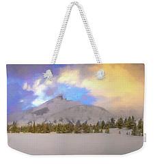 Mid-winter Sunset Weekender Tote Bag