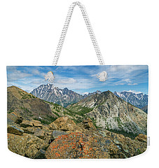 Midday At Iron Peak Weekender Tote Bag