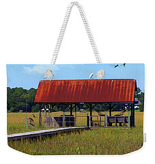 Midday On The Island Weekender Tote Bag by Deborah Smith