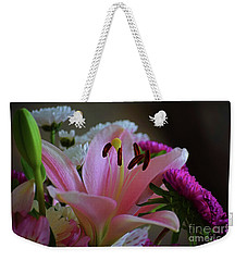 Middle Lily Weekender Tote Bag