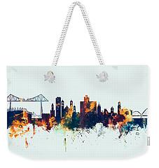 Middlesbrough England Skyline Weekender Tote Bag