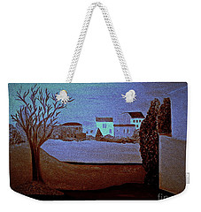 Weekender Tote Bag featuring the painting Midnight Basic  Bill Oconnor by Bill OConnor